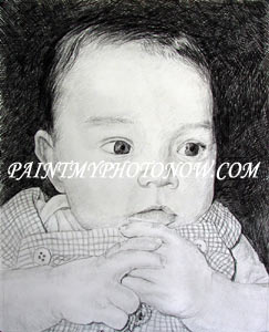 Newborn Baby Drawing