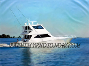 Custom Boat Paintings