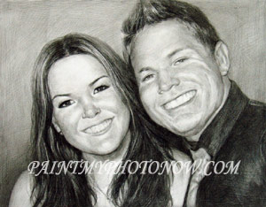 Couple Charcoal Drawings