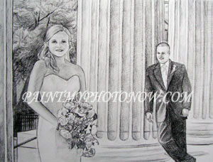 Couple Wedding Drawings