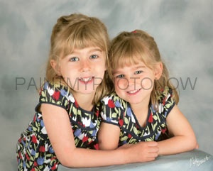 Twin sisters picture