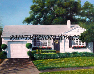 House paintings from your photo