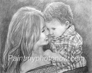 Pencil Paintings