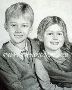 Children Pencil Drawing