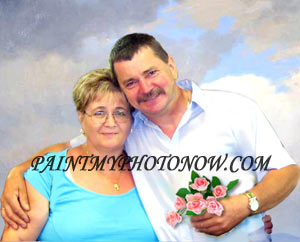 Photo of middle age couple