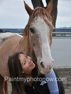 Women with Horse Photos