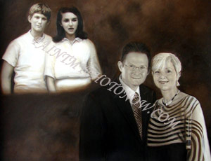 Family Portrait Paintings