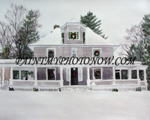 Custom House Paintings