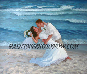 Wedding Portrait Paintings