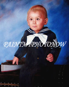 Baby picture painting