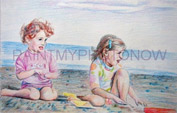 Pastel drawing on art paper price list