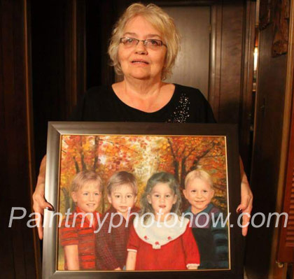 Patty Matheny's Photo with Painting