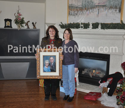 Sonja Loyd's Photo with Painting