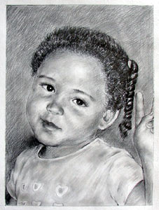 Baby portrait sample